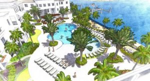 Hotel - Pool Aerial