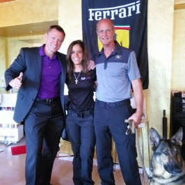 With Delta Force Ranger and Altair Owners Brian and Michelle Jones