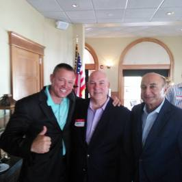 With Developer Jerry Starkey and Fred Pezeshkan