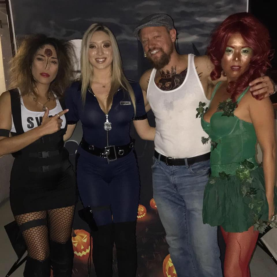 Halloween Conor With the Cops